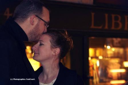 photos d'engagement