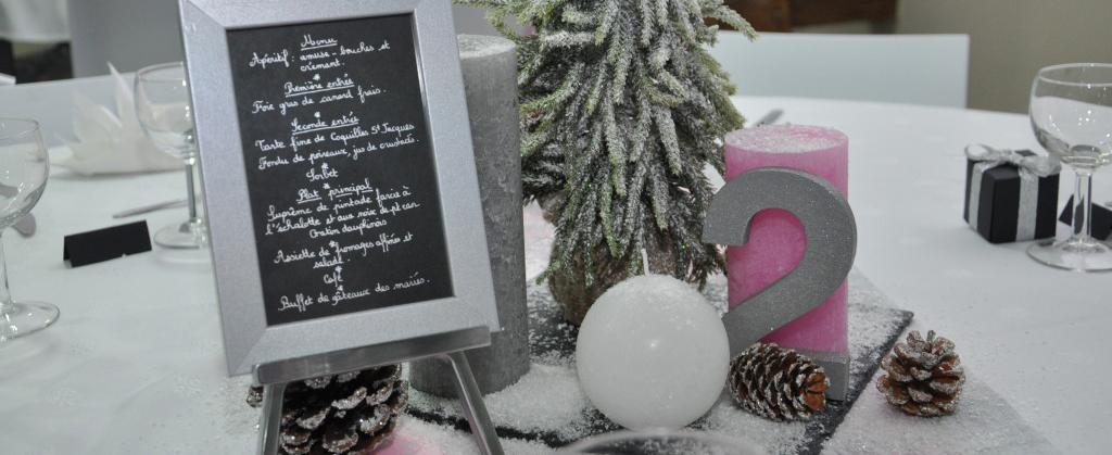 Mon mariage hivernal : le vin d'honneur et la déco de table