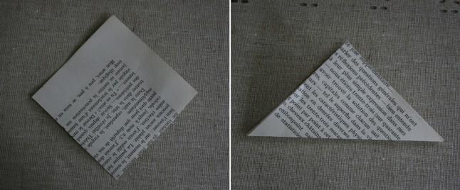 Tutoriel fleurs en papier étape B