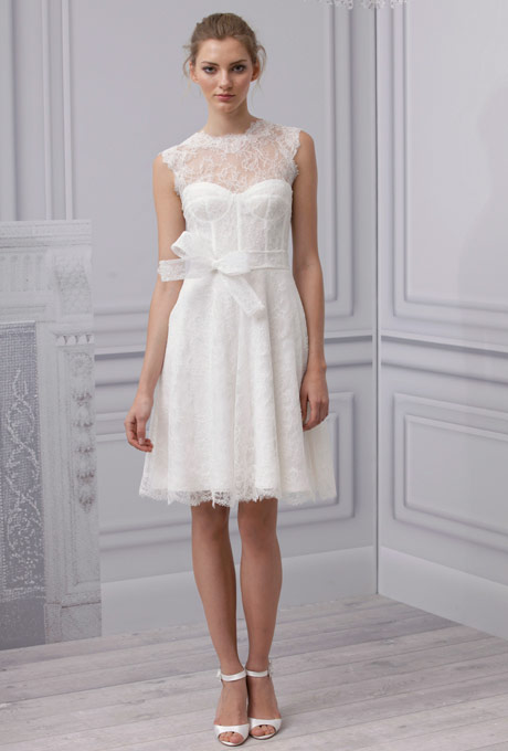 Monique-Lhuiller-Short-Wedding-Dress