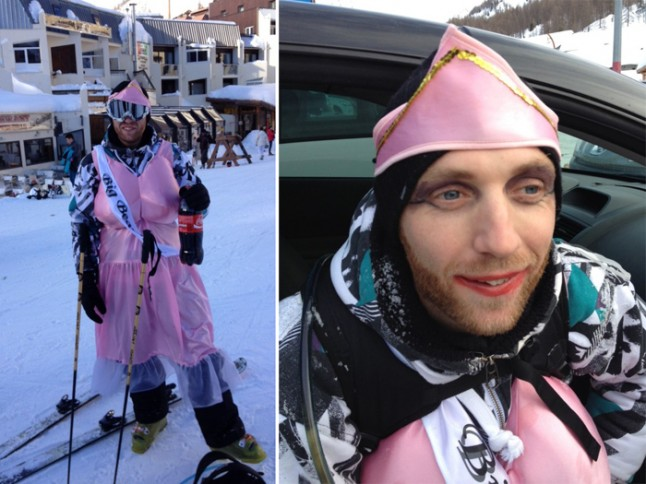 enterrement de vie de garçon au ski