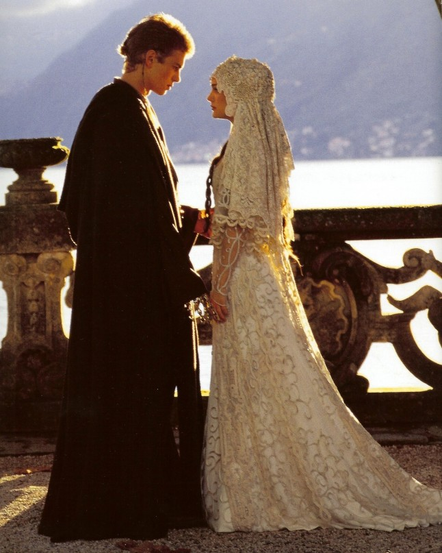 anakin padme wedding