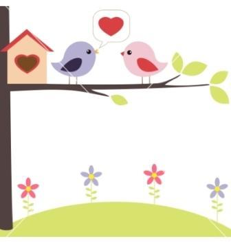 oiseaux amoureux