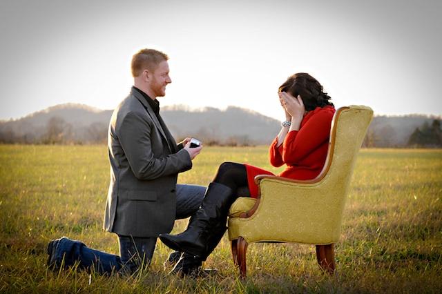 Ma demande en mariage quand je n'y croyais plus…