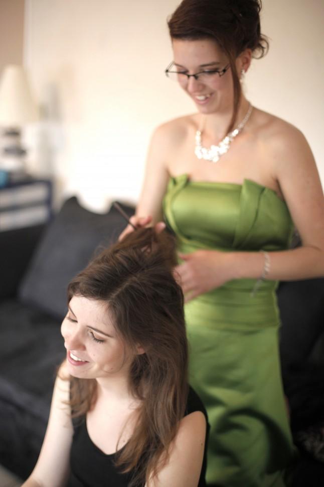 coiffure DIY mariée