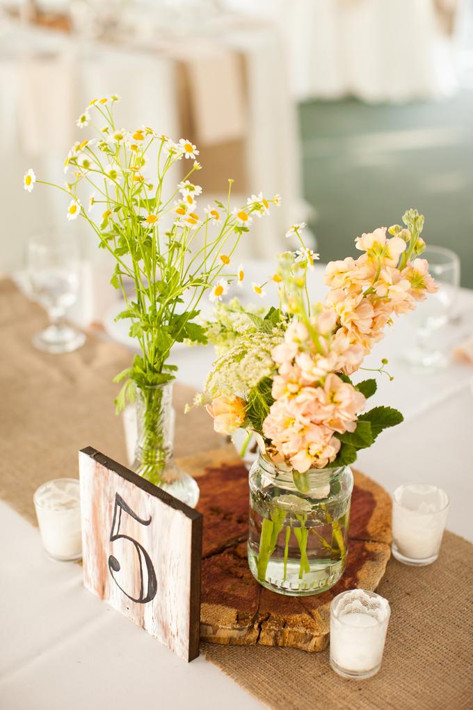 La décoration de notre mariage : un travail collaboratif