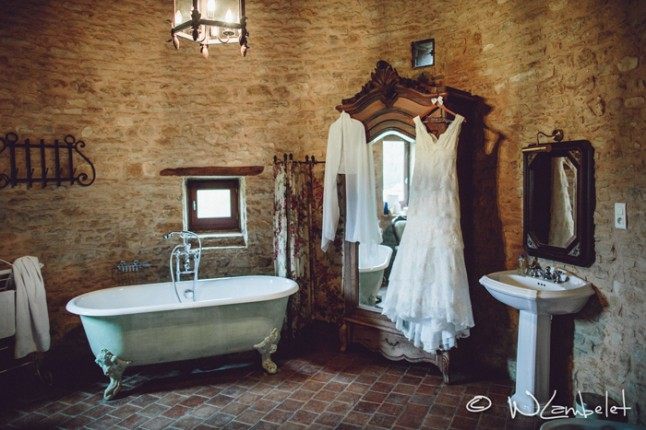 mariage Beaujolais robe de mariée