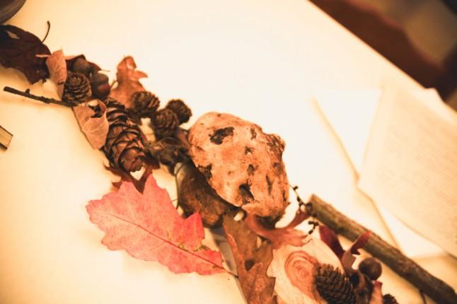 déco de table mariage automne médiéval fantastique