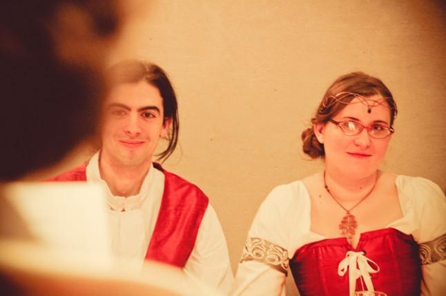 mariage médiéval chanson mariés