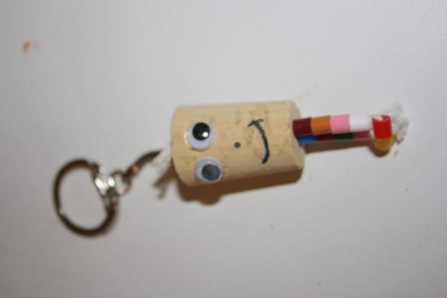 porte-clé cadeau d'invité DIY