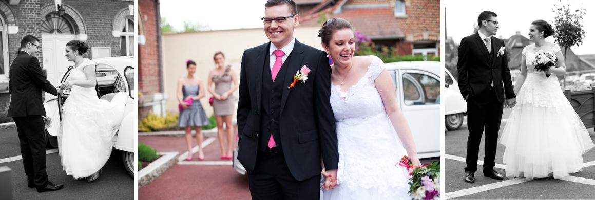 Mon mariage en blanc, rose et orange – La cérémonie à la mairie