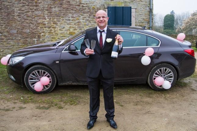 marié champagne
