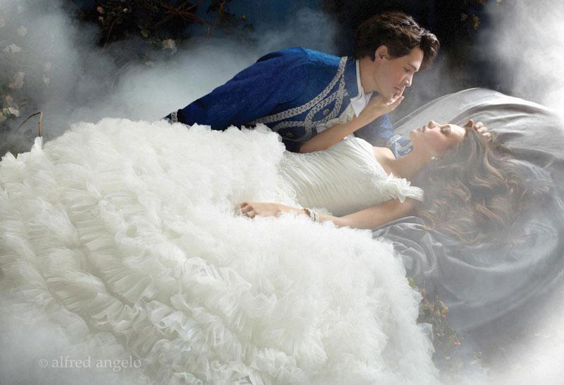 Jolie mariée : le style princesse