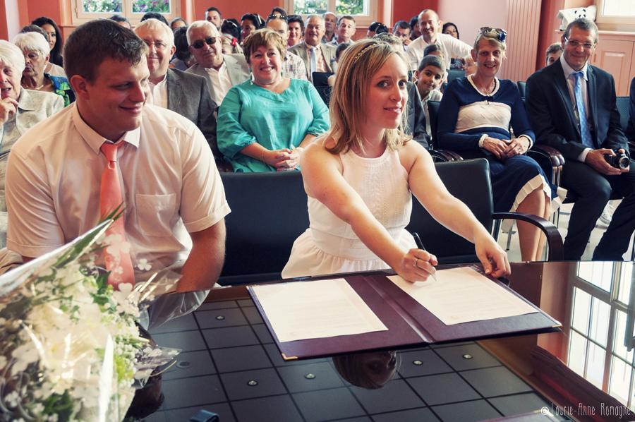 Mon mariage champêtre romantique : la cérémonie civile