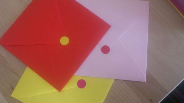gommettes enveloppes