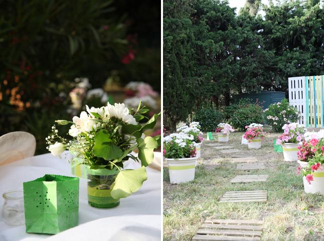 déco mariage fleurie