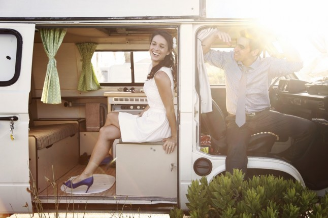 photo de couple combi VW