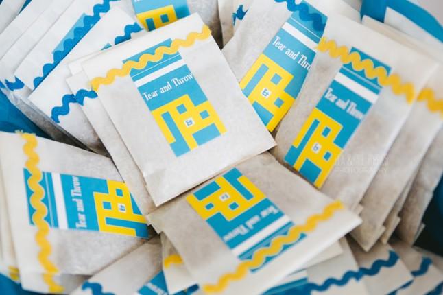 sachets de confettis