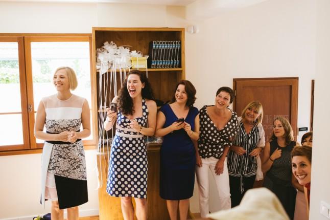 Bride's team