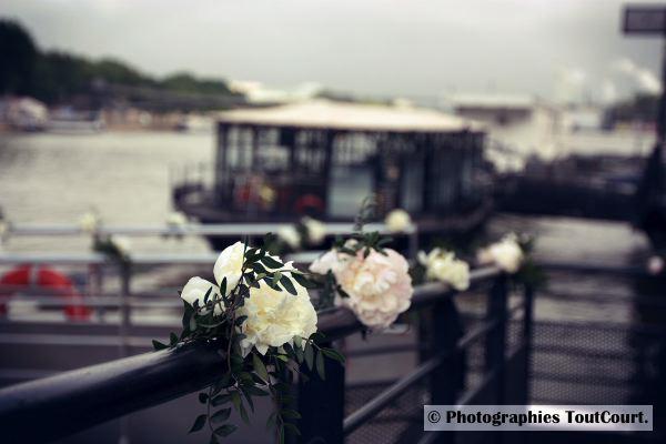 Mon mariage mixte en deux temps : la soirée de notre mariage civil, sur une péniche !