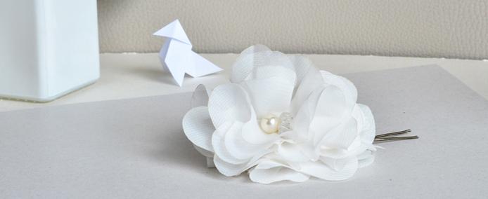 Tuto DIY : crée un pic à chignon facile avec une fleur pompon !