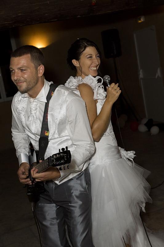 soirée mariage chanson des mariés