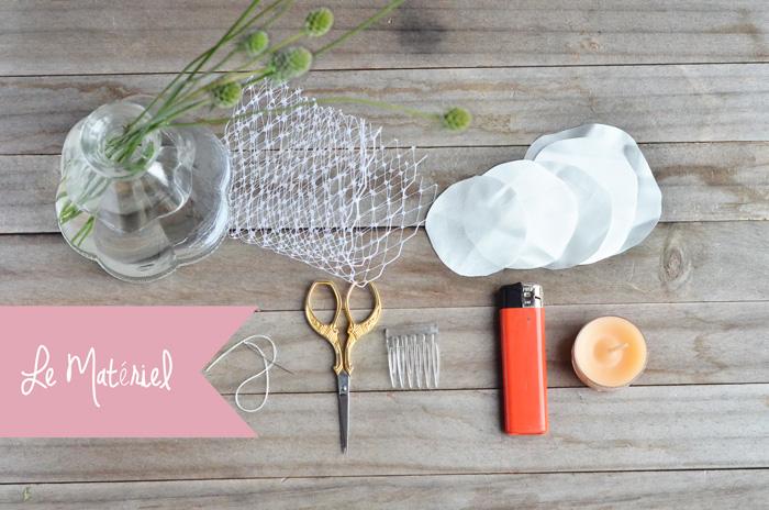 Tuto DIY : comment créer une voilette de mariée