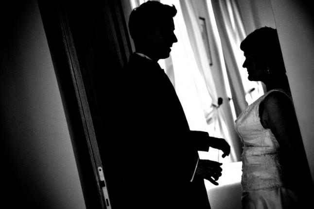 Photos de couple et cocktail animé
