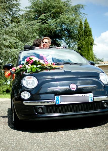 Photo de jeunes mariés