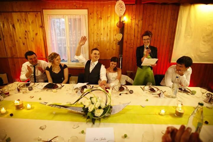 Mon mariage chocolaté – la soirée (1ère partie)