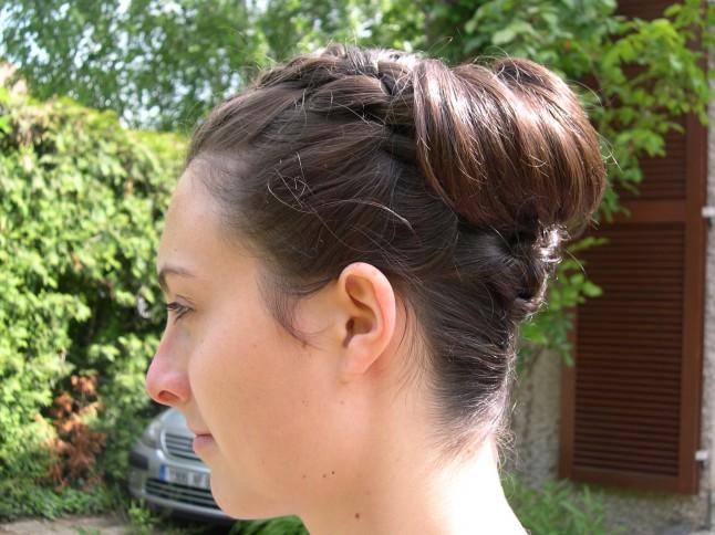 1er essai coiffure Mlle Fox profil
