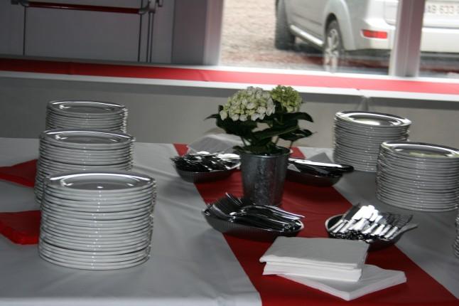 repas de mariage DIY