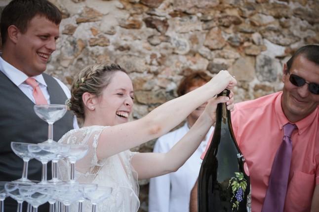 La mariée s'y colle !