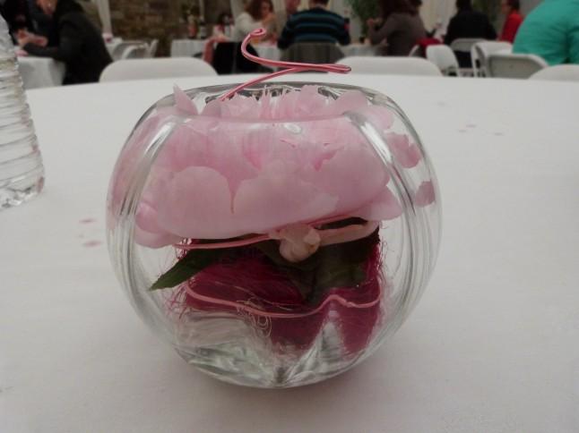 vase centre de table et cadeau d'invité