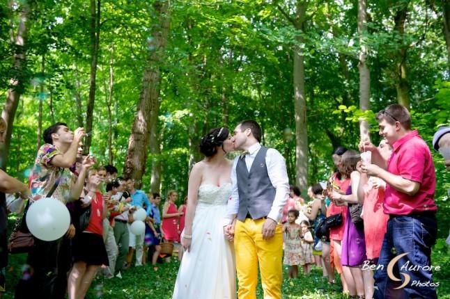 Notre cérémonie laïque en forêt