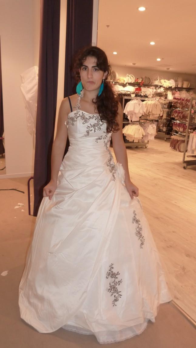 Essayage robe de mariée TATI Mariage