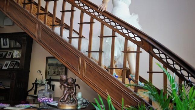 descente escalier