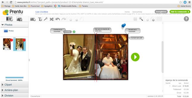 On a testé Prentu.fr pour nos photos de mariage : notre avis !