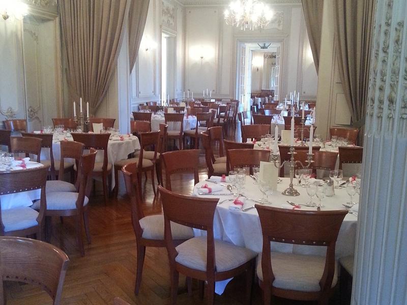 salle dîner de mariage