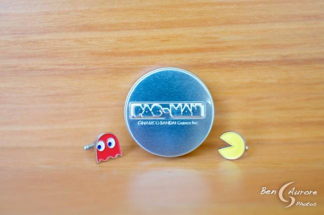 Boutons de manchette Pac-Man