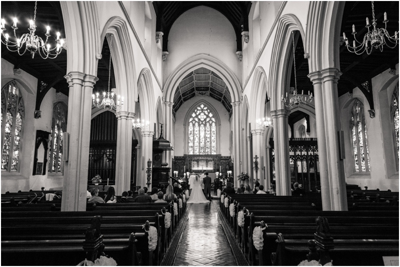 Notre mariage en 2 temps : le plan de notre messe.