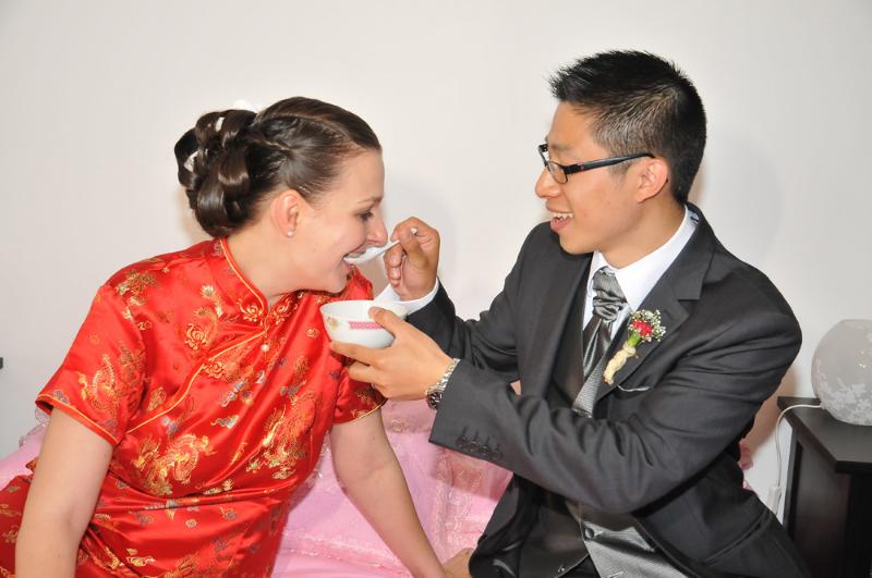 Mon mariage mixte en deux temps : une séance photo cocasse !