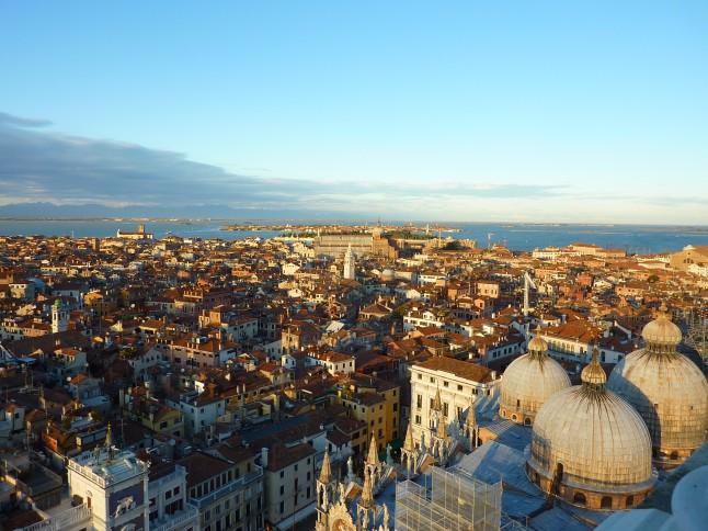Venise vue depuis le Campanile de la place Saint Marc