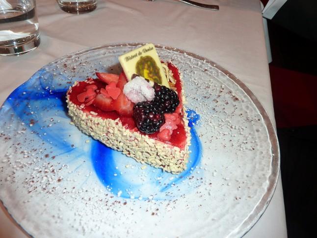 part de gâteau mariage à Venise