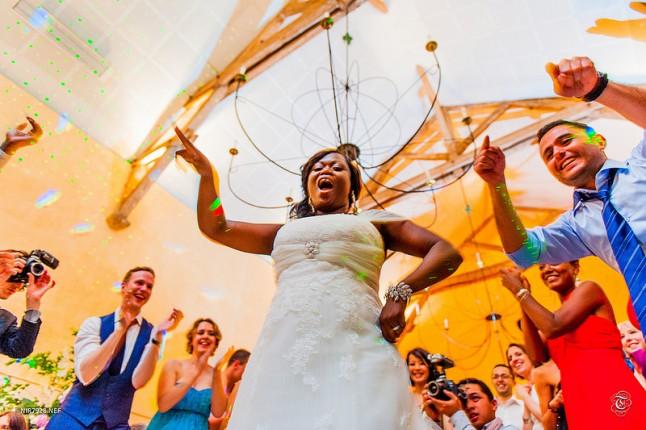 bal mariage mariée danse