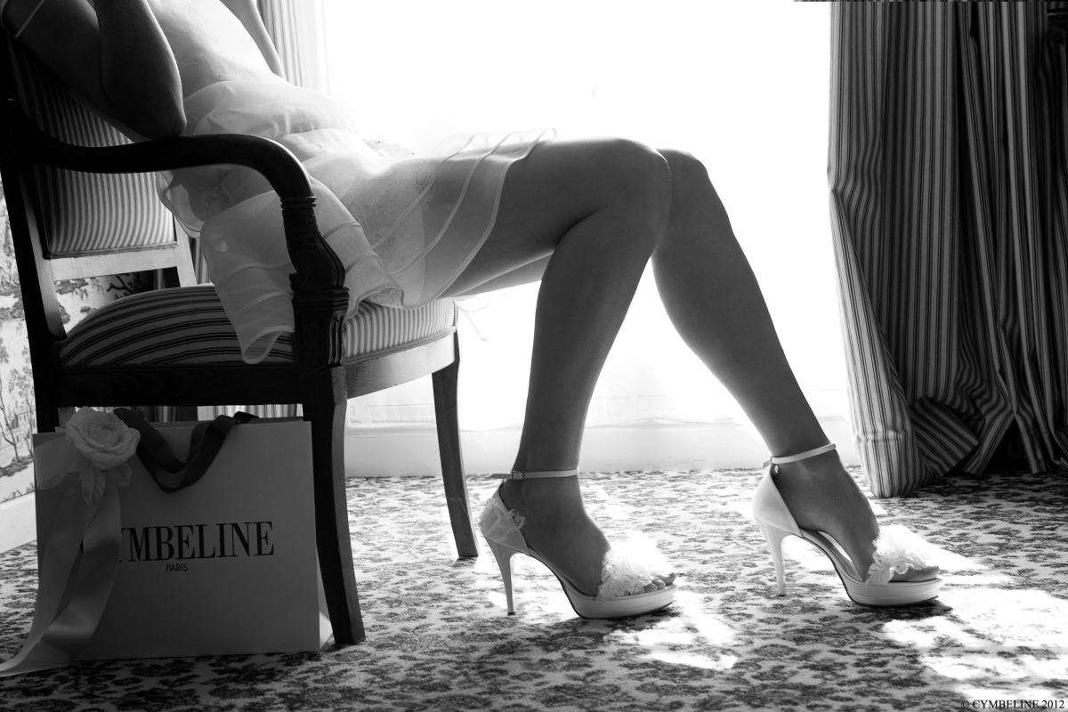 Cymbeline chaussures de mariée