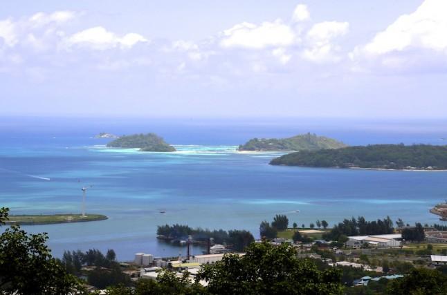 Vue des Seychelles voyage de noce