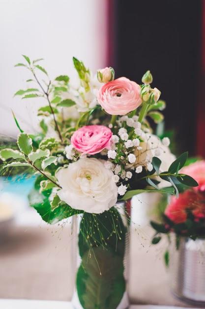 Décoration florale réception mariage civil