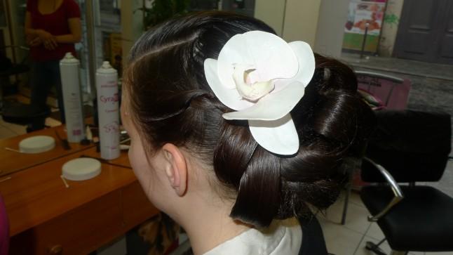 Chignon de mariée traditionnel chinois