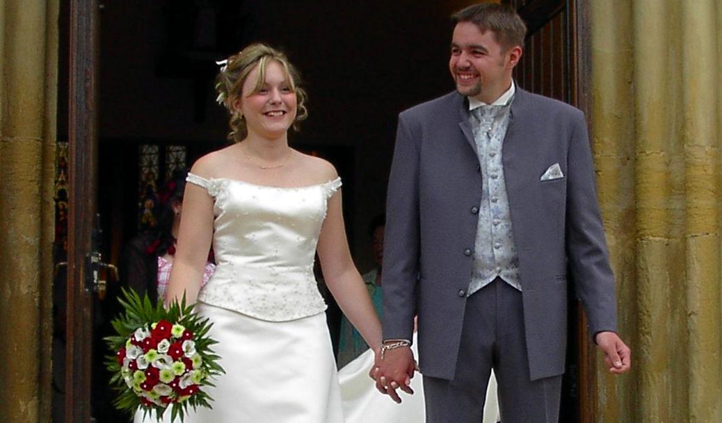 La première fois que je me suis mariée